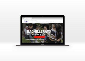 CEAO – Página Web